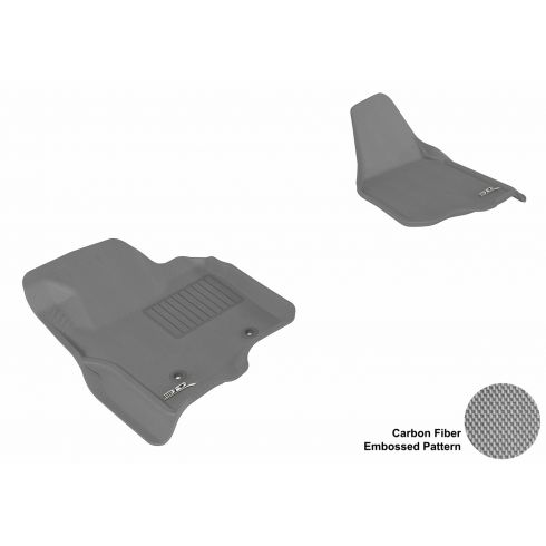 11-13 Ford Super Duty (Does not fit regular cab) Gray Front Floor Liner