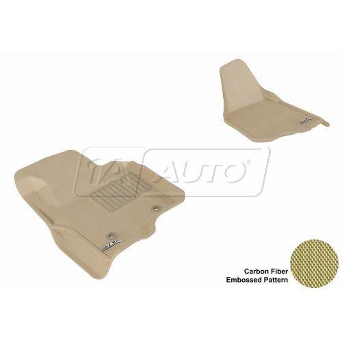 11-13 Ford Super Duty (Does not fit regular cab) Tan Front Floor Liner
