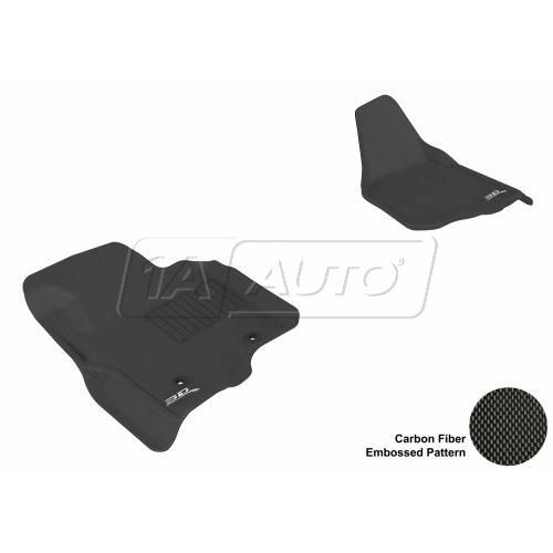 11-13 Ford Super Duty (Does not fit regular cab) Black Front Floor Liner
