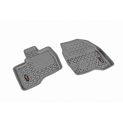 11-14 Ford Explorer Gray Front Floor Liner SET (Rugged Ridge)