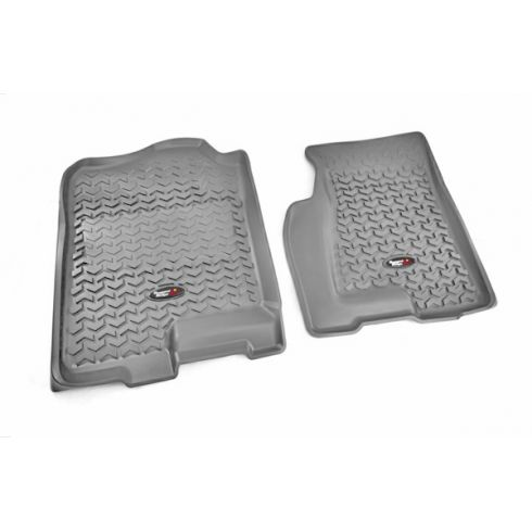 99-06 GM Fullsize Pickup & SUV Gray Front Floor Liner SET (Rugged Ridge)