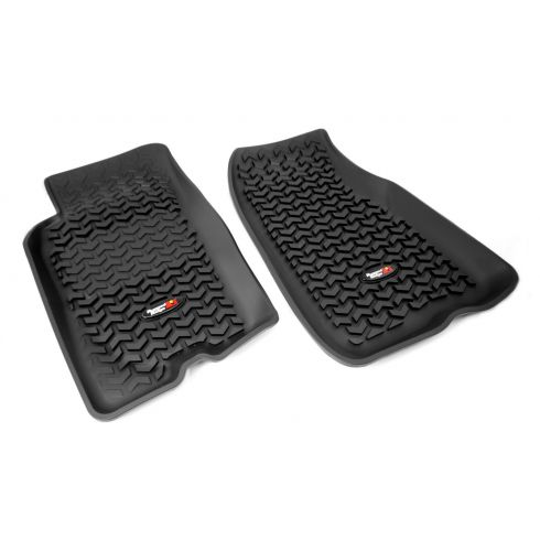 93-98 Jeep Grand Cherokee Black Front Floor Liner SET (Rugged Ridge)