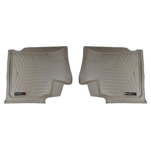 Tan Buick Enclave/Chevy Traverse/GMC Acadia/Saturn OutlookFront Floor Liner