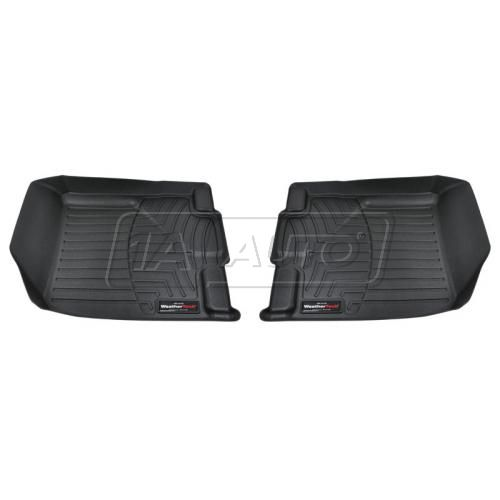 Black Ford Edge 07+Front Floor Liner