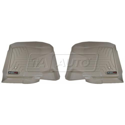 Tan Ford Super Duty 2008+ w/o Manual Transfer CaseFront Floor Liner