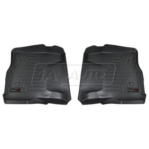 Black Ford Super Duty 2011+ (Does not fit regular cab)Front Floor Liner