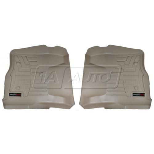 Tan Ford Super Duty 2011+ (Does not fit regular cab)Front Floor Liner