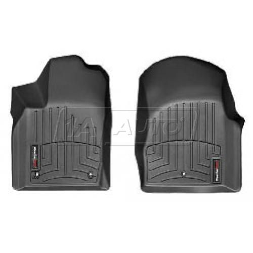 2011- Jeep Grand Cherokee, Dodge Durango Black Front Floor Liner