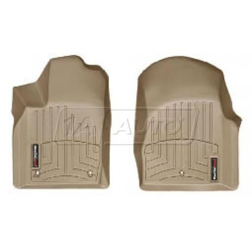 2011- Jeep Grand Cherokee, Dodge Durango Tan Front Floor Liner