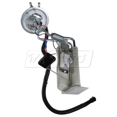 92-96 Ford PU Fuel Pump Module w/2 Outlets for LH 19 Gal Tank