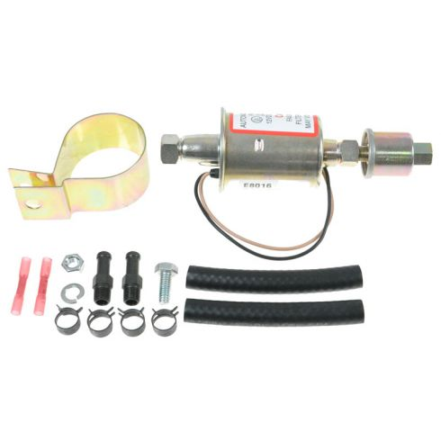 60-85 Alpha Romeo thru Volvo Multifit External Helper Electric Fuel Pump w/Pigta