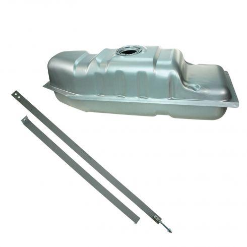 97-02 Chevy S10 GMC S15; 96-00 Isuzu Hombre 18.5 Gal Steel Gas Tank & Strap Set