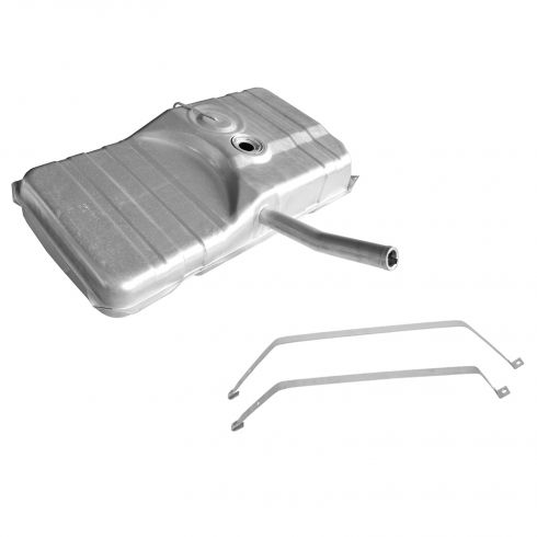 73-74 GM X Body 21.5 Gal Fuel Tank w/Filler Neck & Strap Set