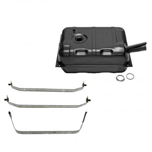 73-76 Jeep 15 gal Gas Tank w/ Straps Kit