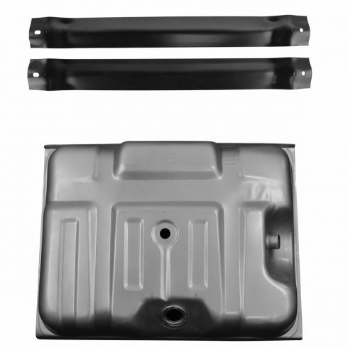 80-84 Ford 19 gal Rear Mt Gas Tank w/ Straps Kit