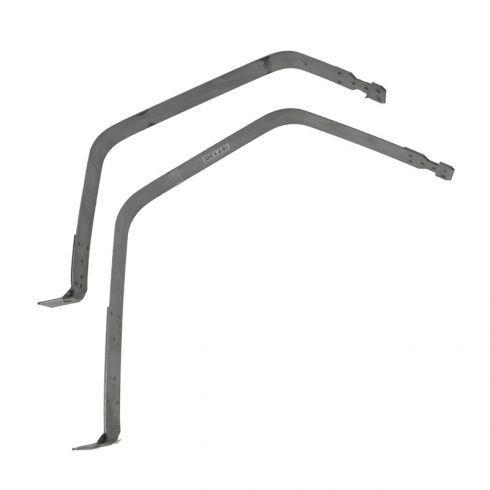 Fuel Tank Straps for Side Mounted 24.5 Gallon tank with 2WD & 6.5 Foot Bed