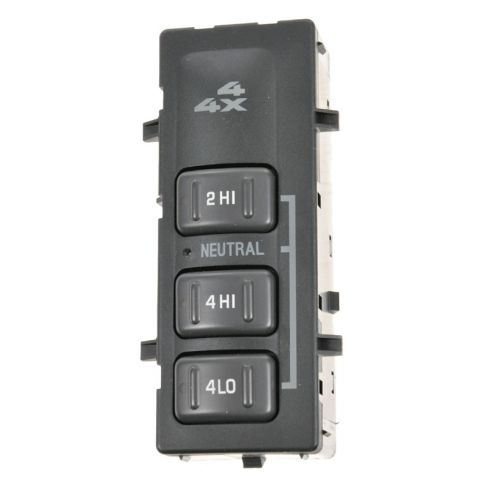 Dash Mounted 4 Wheel Drive Switch