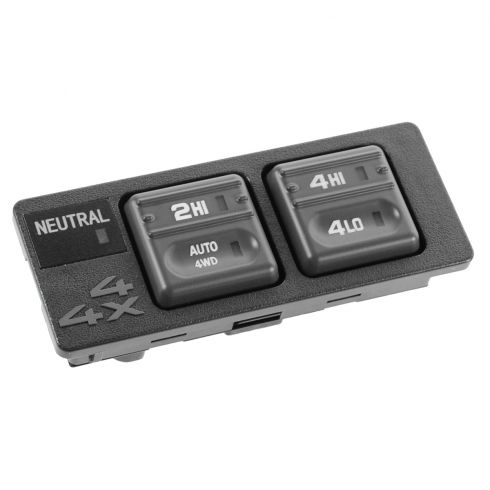 99-00 Escalade; 98-00 Chevy, GMC FS SUV, PU (w/Auto 4WD) 4 Button 4WD Switch (DORMAN)