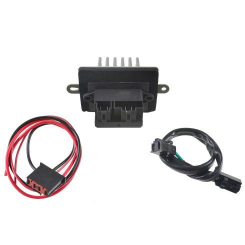 99-04 Jeep Grand Cherokee w/ATC Blower Motor Resistor w/Plug & Pigtail