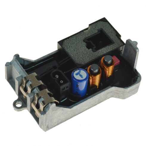 00-11 MB C, CL, CLK, E, G, S, SL, SLK Series Multifit Heater Blower Motor Resistor (Hella)