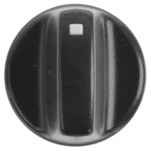 93-94 Ranger (w/AC), Explorer; 93-96 E150-E350 Molded Black Plastic Heater Blower Switch Knob (Ford)