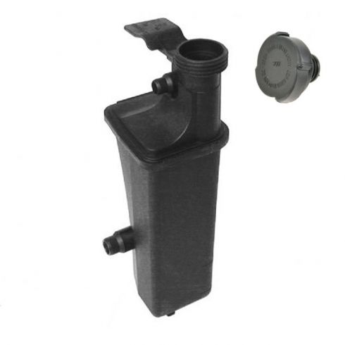 Radiator Coolant Overflow Tank With Cap