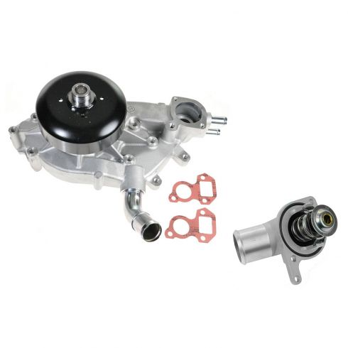 00-03 Escalade; 97-06 Chevy, GMC w/5.3L, 6.0L (w2.02 OD) WaterPump & Thermostat Hsg