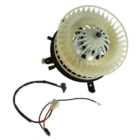 1996-03 Mercedes Benz E-Class W210 Chasis Blower Motor w/Fan Cage