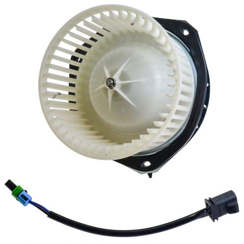 2000-05 GM Multifit Heater Blower Motor w/Fan Cage