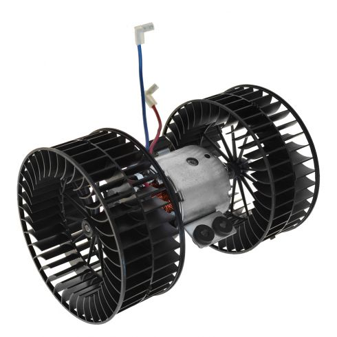 95-01 BMW 740i, 740iL, 750iL Front Heater Blower Motor w/Dual Fan Cages