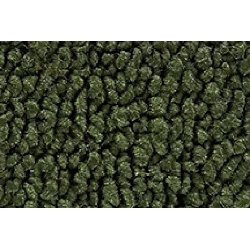 64-66 Plymouth Barracuda Cargo Area Carpet 30 Dark Olive Green