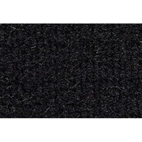 88-89 Mazda 323 Cargo Area Carpet 801 Black