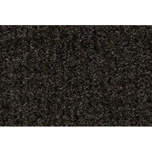 88-89 Mazda 323 Cargo Area Carpet 897 Charcoal