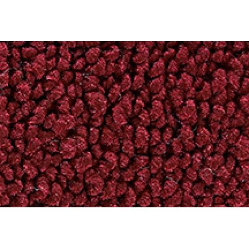 70-75 Chevrolet Corvette Cargo Area Carpet 13 Maroon