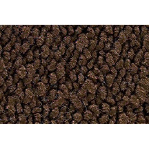 56 Chevrolet Nomad Passenger Area Carpet 10 Dark Brown