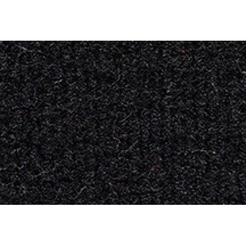 92-93 GMC Jimmy Passenger Area Carpet 801 Black