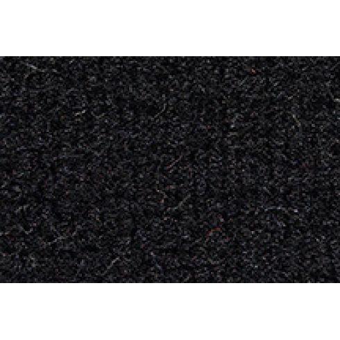 84-90 Jeep Wagoneer Passenger Area Carpet 801 Black