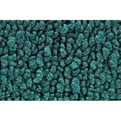 64 Ford Mustang Passenger Area Carpet 05 Aqua