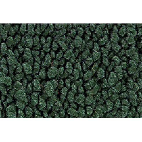 65-68 Ford Mustang Passenger Area Carpet 08 Dark Green