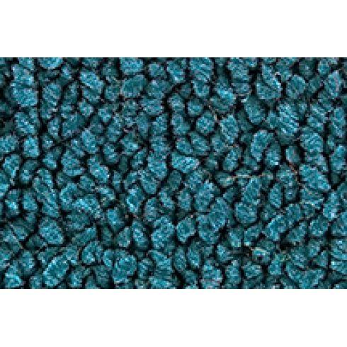 55-56 Ford Victoria Complete Carpet 17 Bright Blue