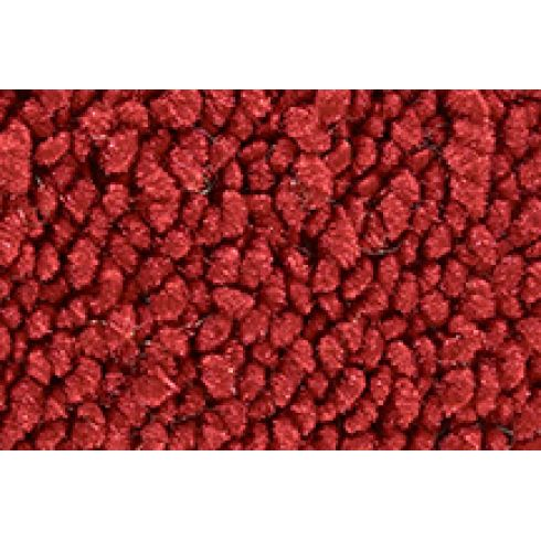 57-58 Cadillac DeVille Complete Carpet 02 Red