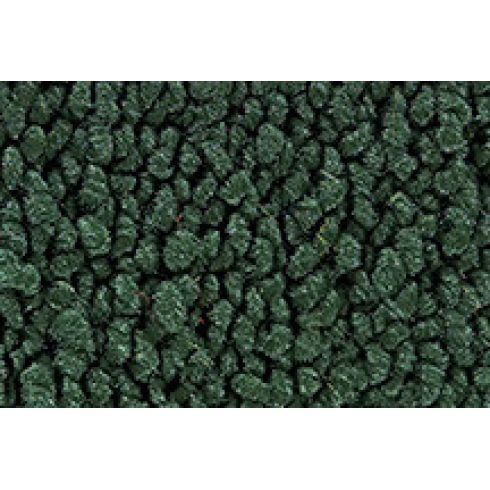 72-73 Plymouth Gran Fury Complete Carpet 08 Dark Green