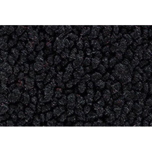 73 Oldsmobile Cutlass Complete Carpet 01 Black