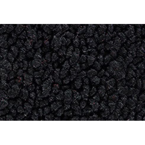 73-73 Pontiac GTO Complete Carpet 01 Black