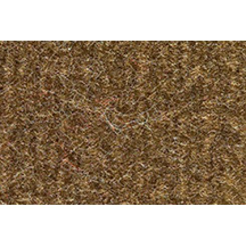 85-88 Chevrolet Spectrum Complete Carpet 4640 Dark Saddle