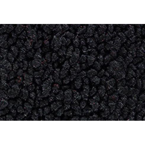 57-58 Cadillac DeVille Complete Carpet 01 Black