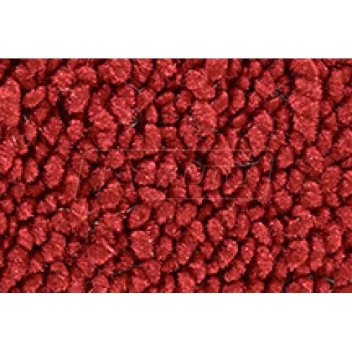 71-75 Chevrolet Corvette Complete Carpet 02 Red