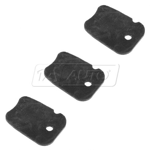 01-04 Toyota Tacoma Center Console Cup Holder Retainer (Set of 3)