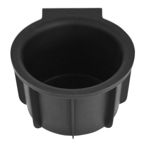 09-14 Ford F150 (w/Flow Through Console) Front Mounted Black Rubber Cup Holder Insert LF = RF (Ford)