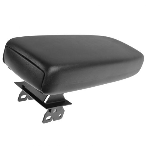 01-03 Ranger (w/Bckt Seats & Flr Cnsle) Ped Style Blk Cntr Console Arm Rest w/Hinge & Top Pad (Ford)